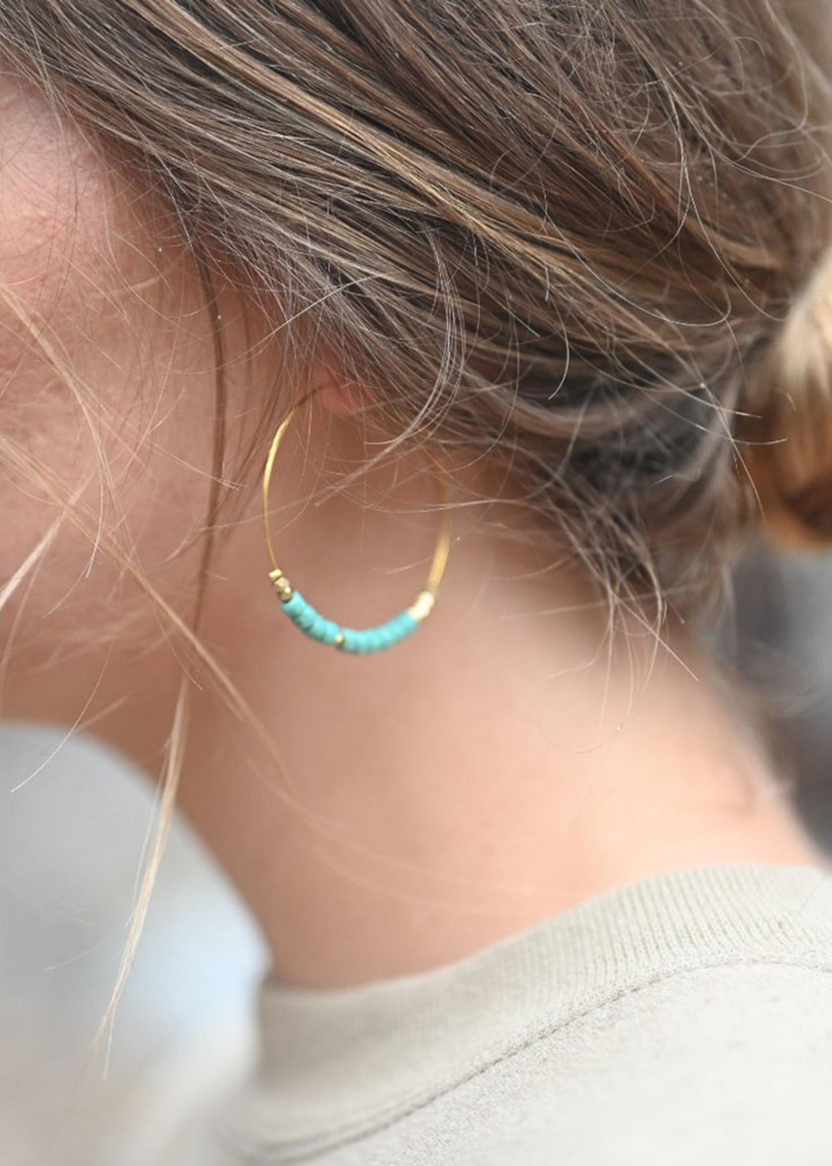 Morse Code HOPE Earrings