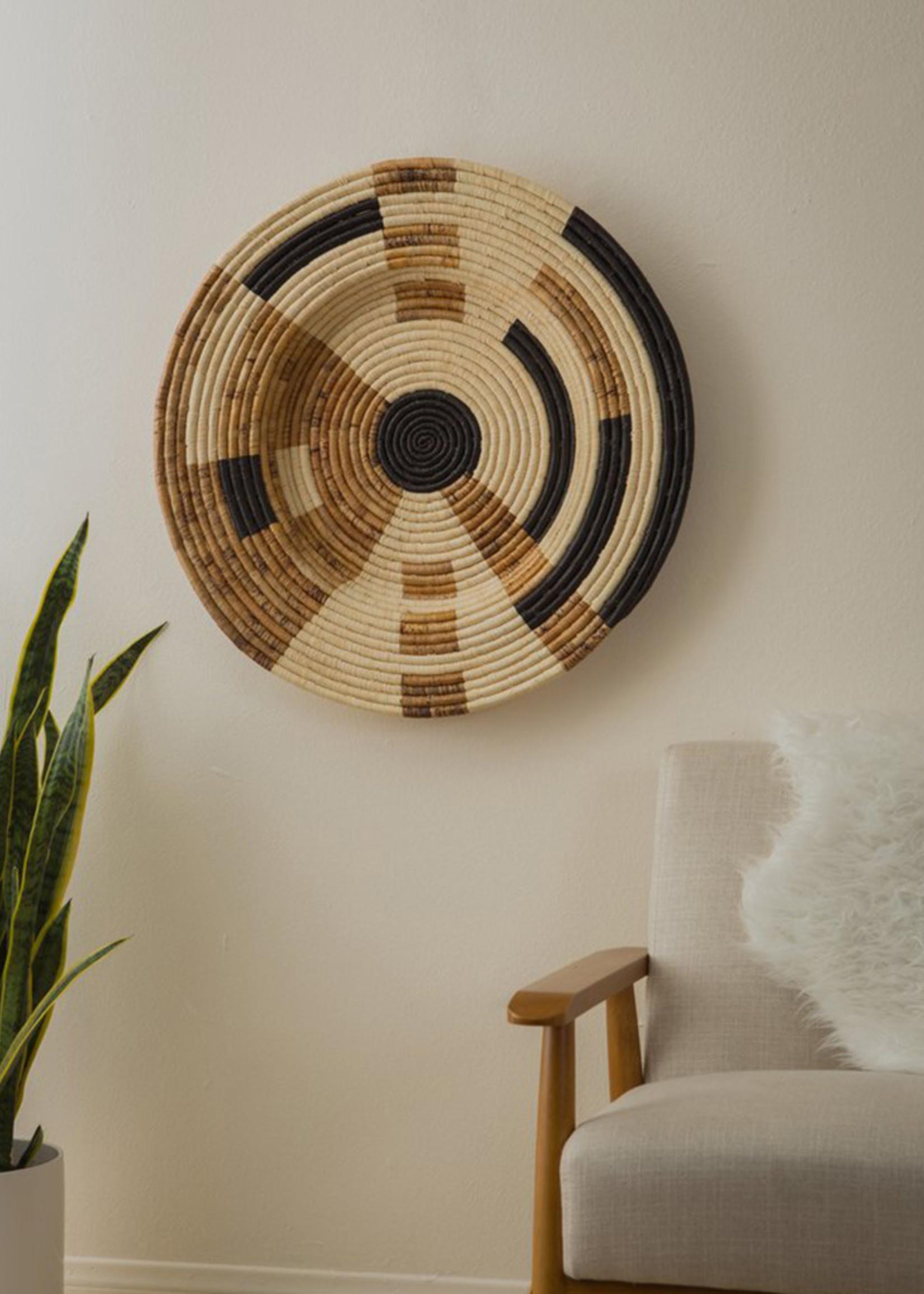 """Kazi 27"""" Banana Leaf Mod Wall Plate"""