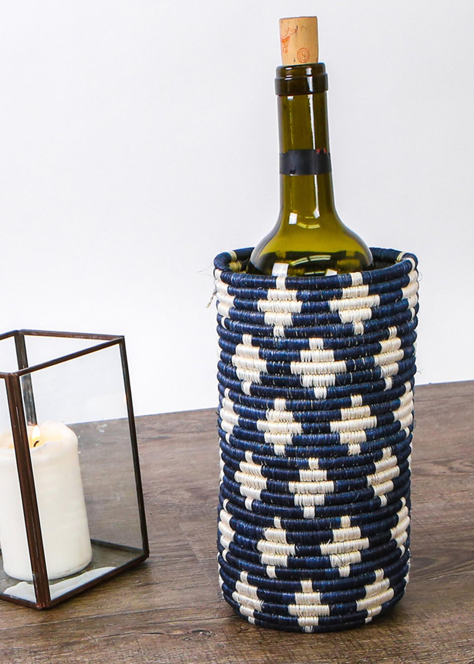 Kazi Blue Night Almasi Sisal Vase