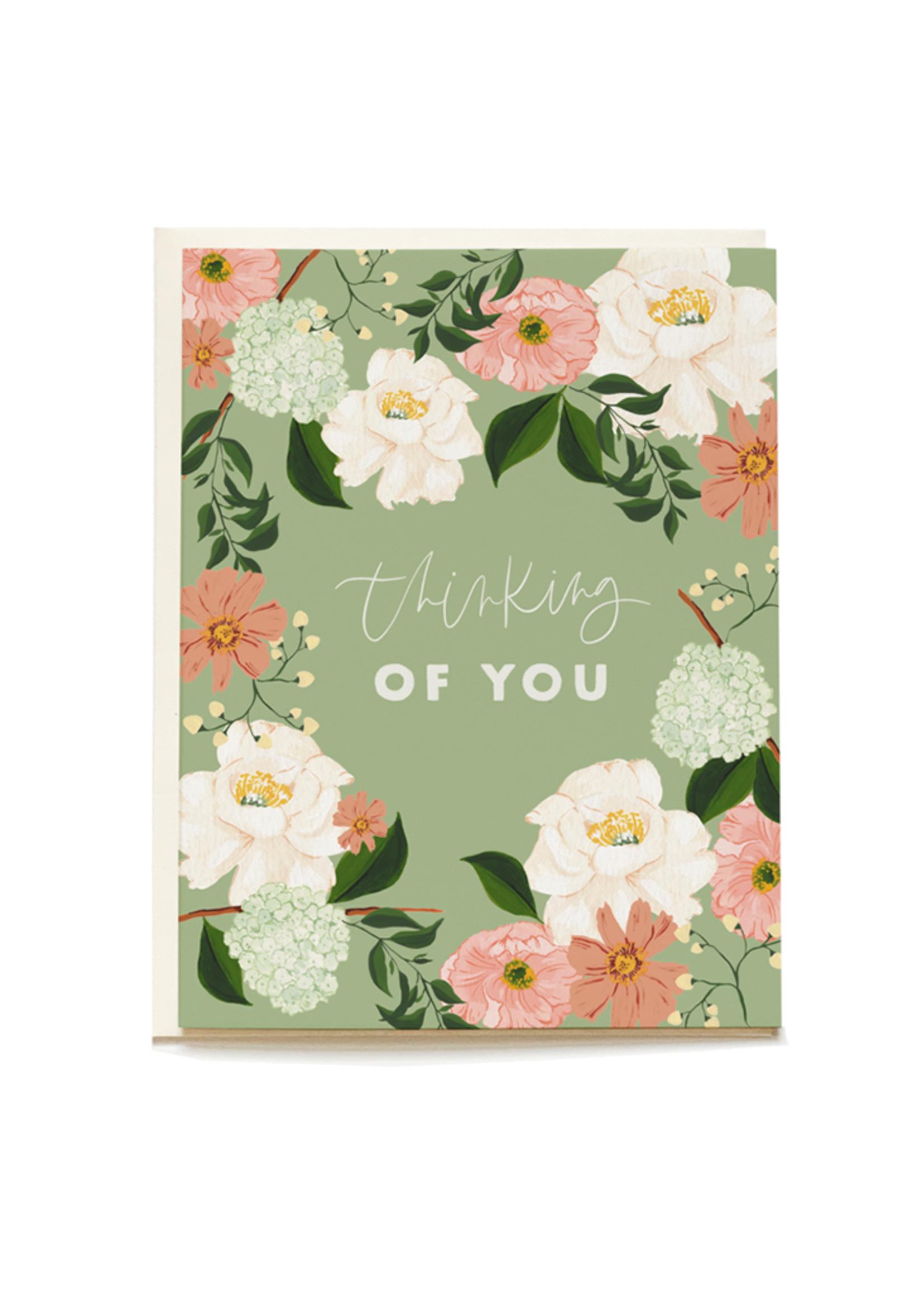 Sage Rose Sympathy Card