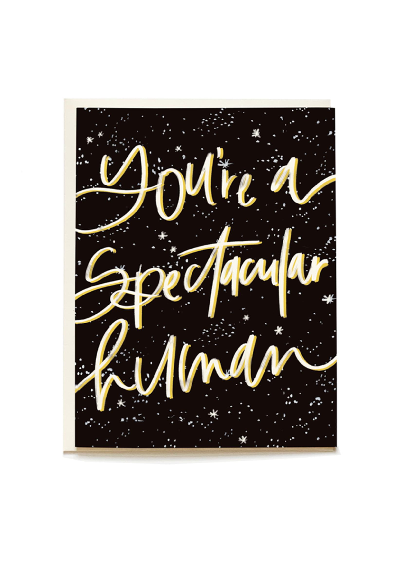 Spectacular Human Card
