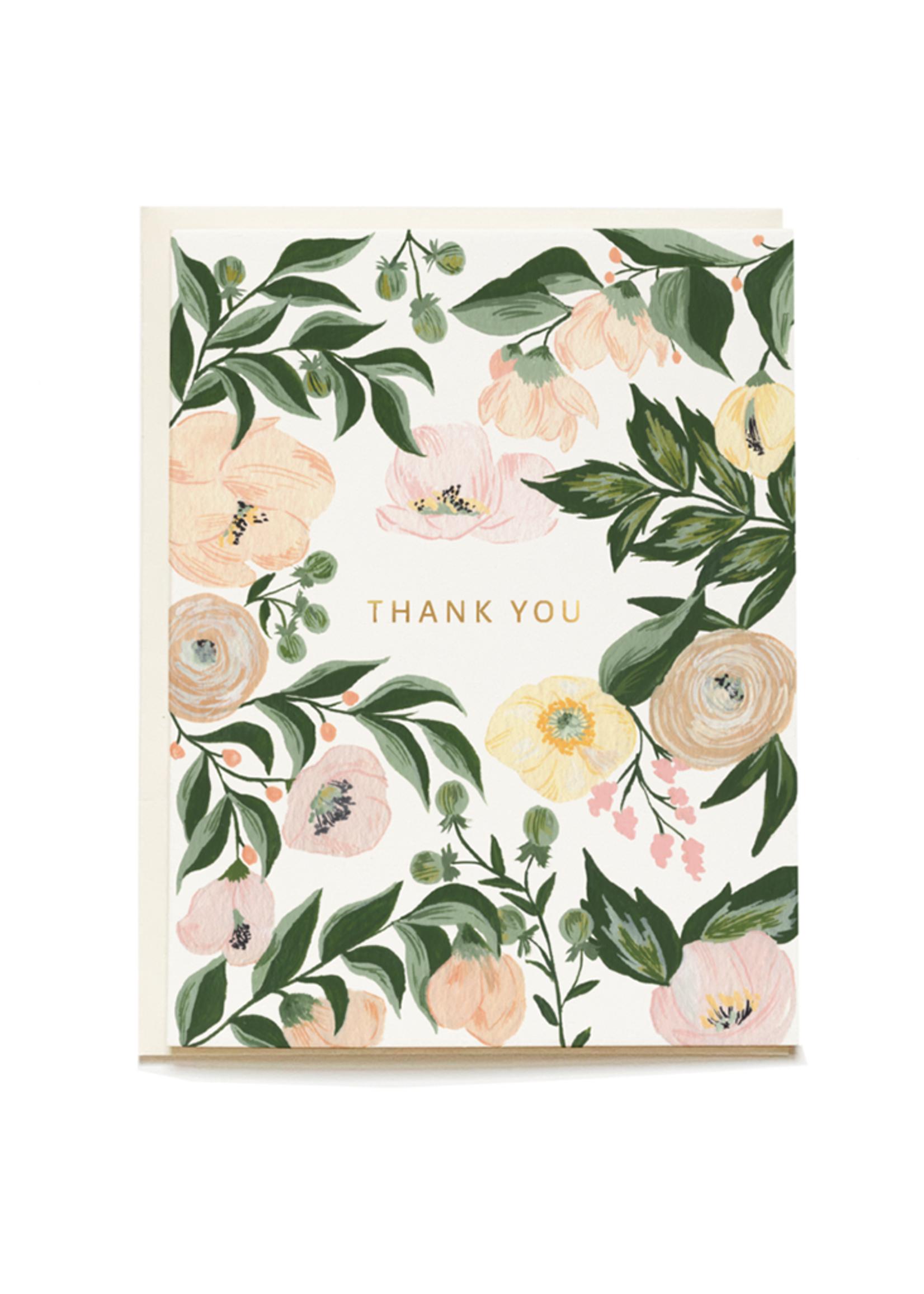 Juliette Thank You Card