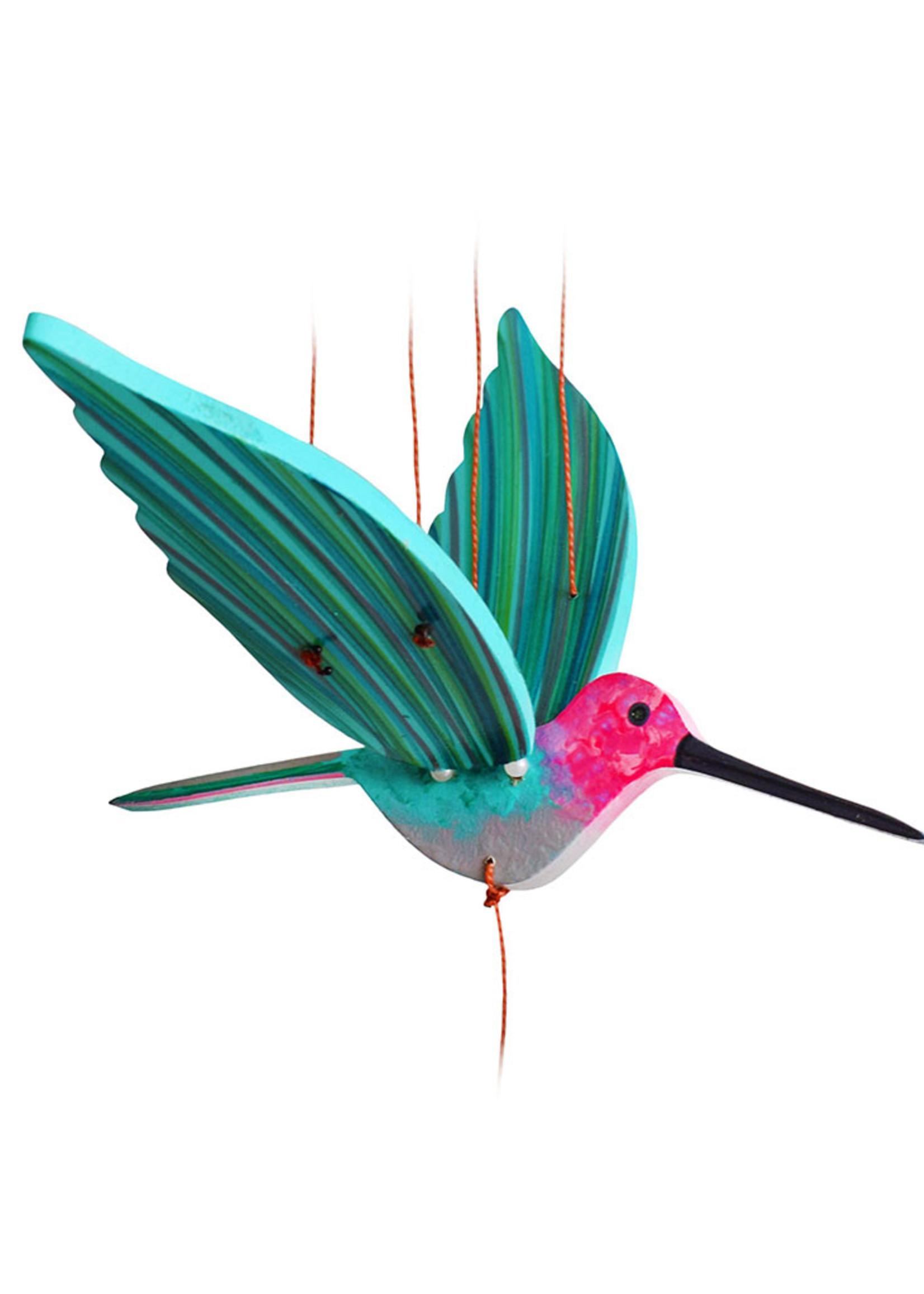 Pink Hummingbird Mobile
