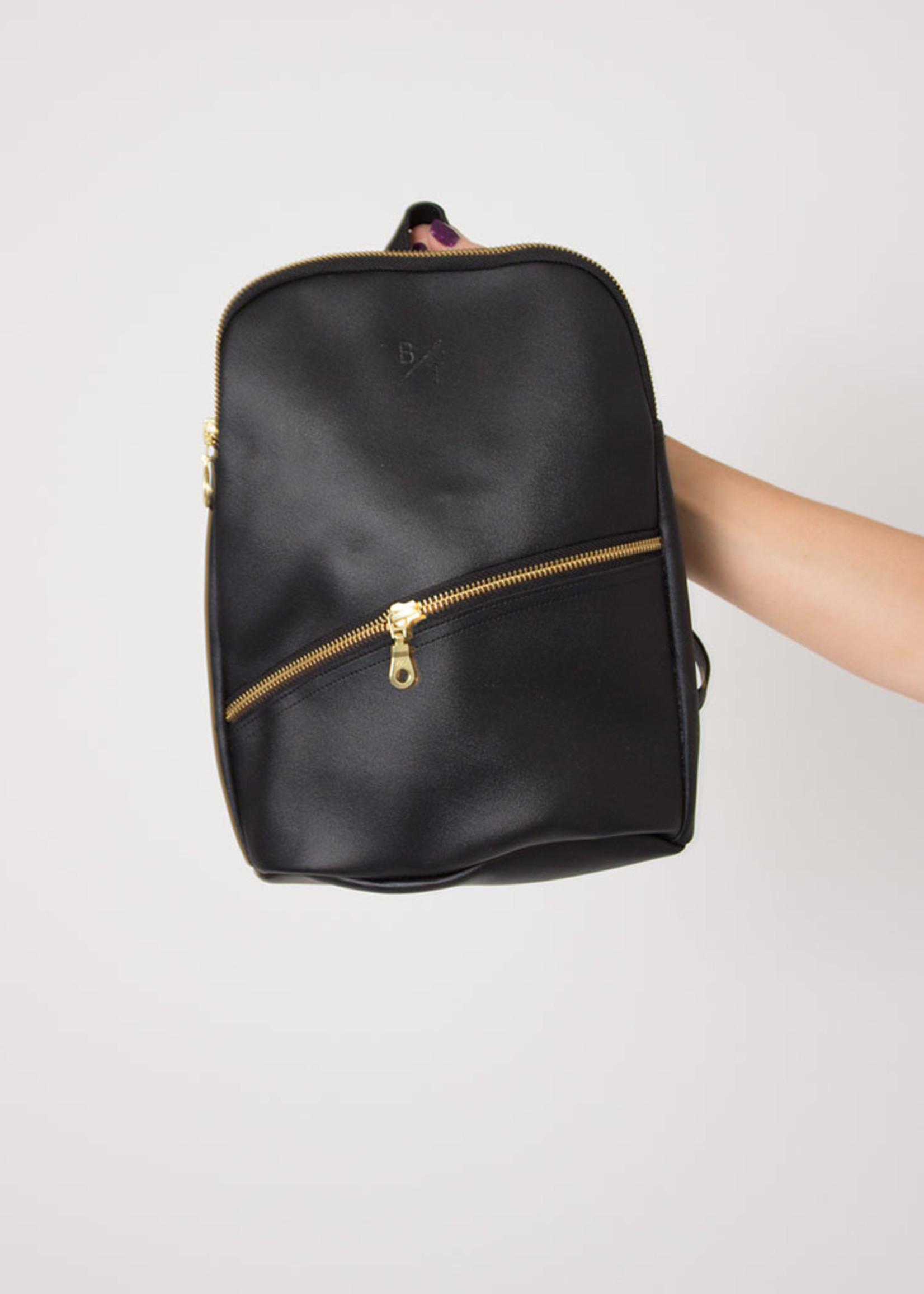 BYTAVI Black Panha Mini Backpack