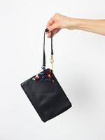 BYTAVI Black Nary Splatter Wristlet Bag