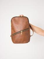 BYTAVI Brown Panha Mini Backpack