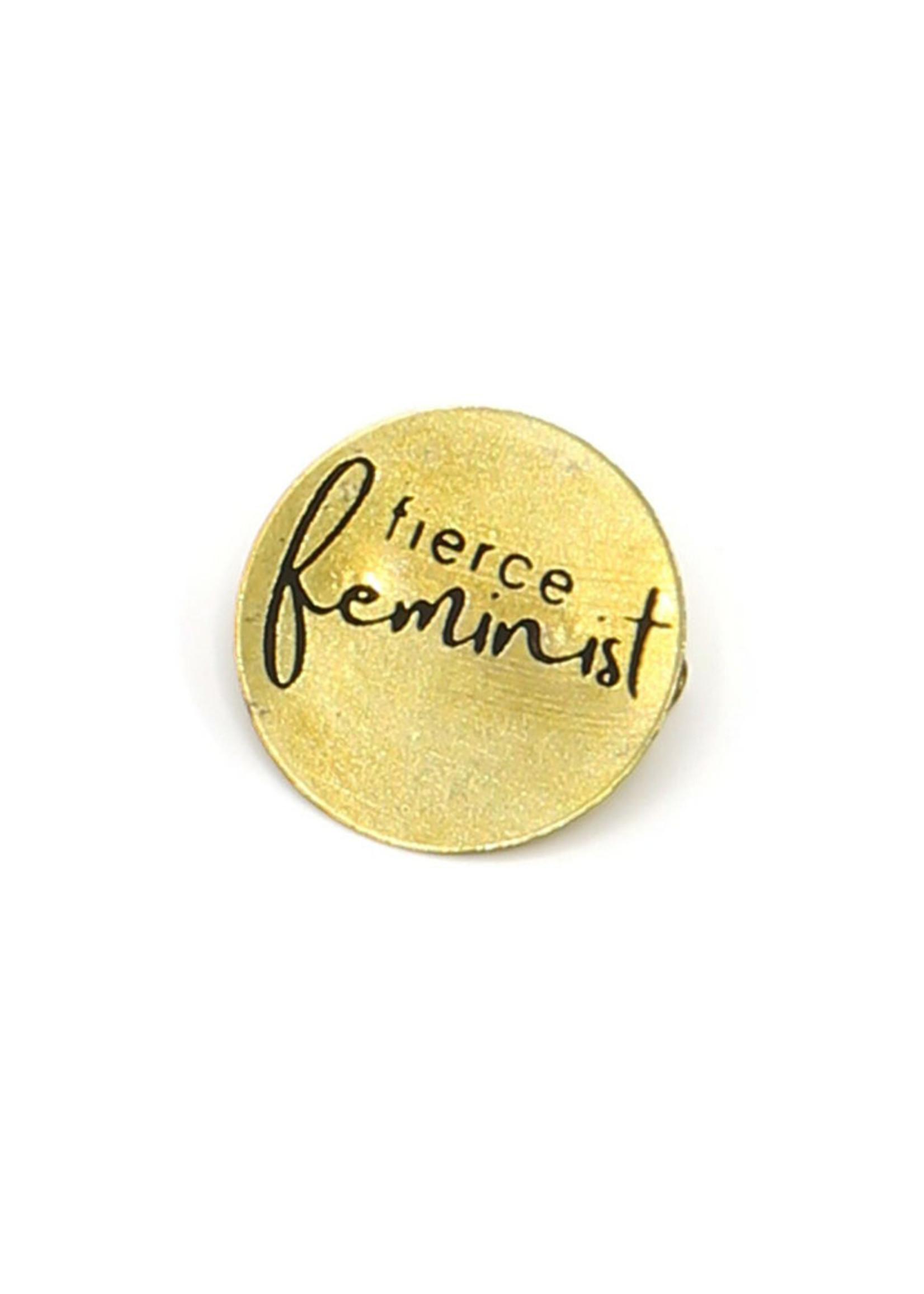 Fierce Feminist Pin