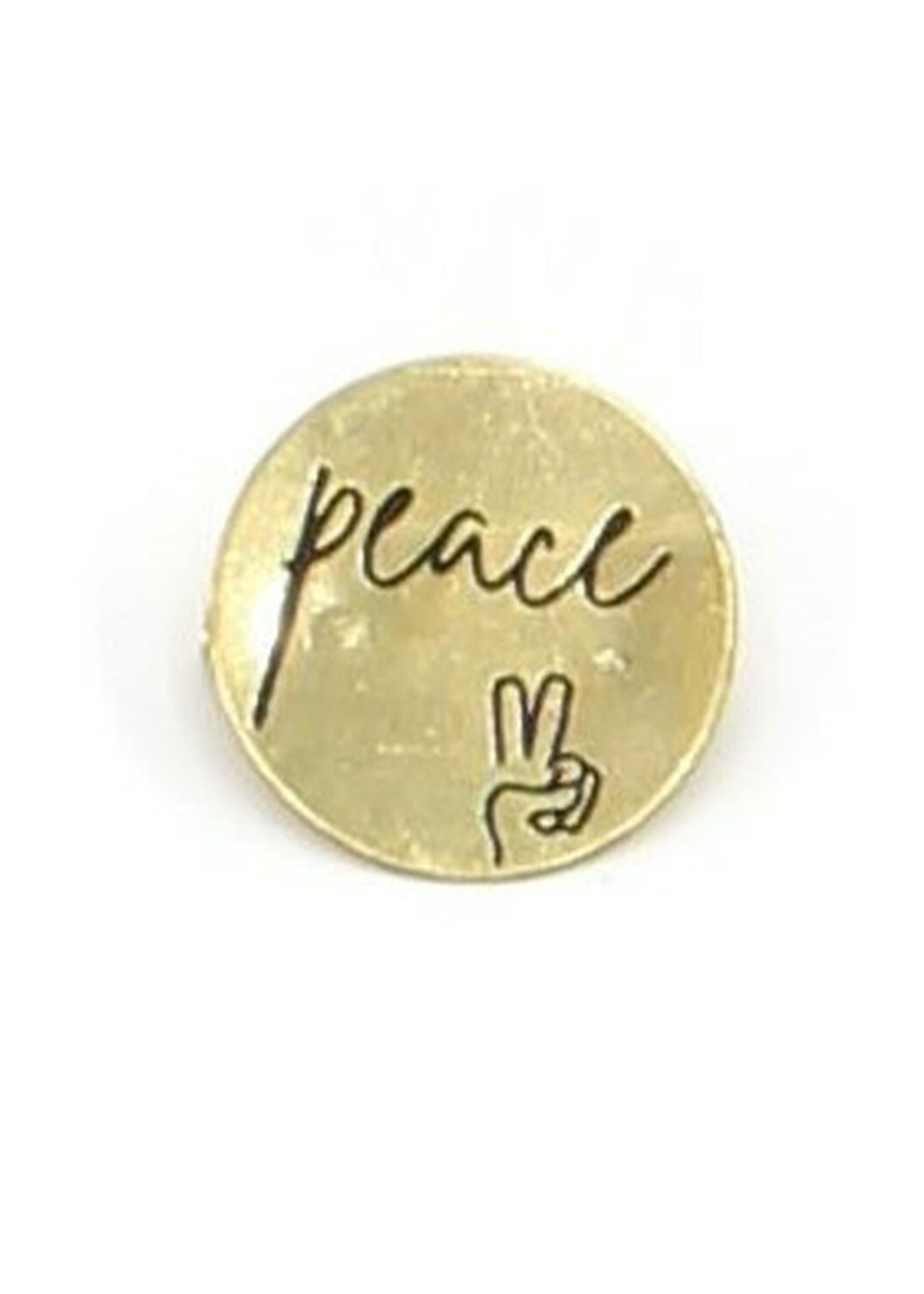 Peace Pin