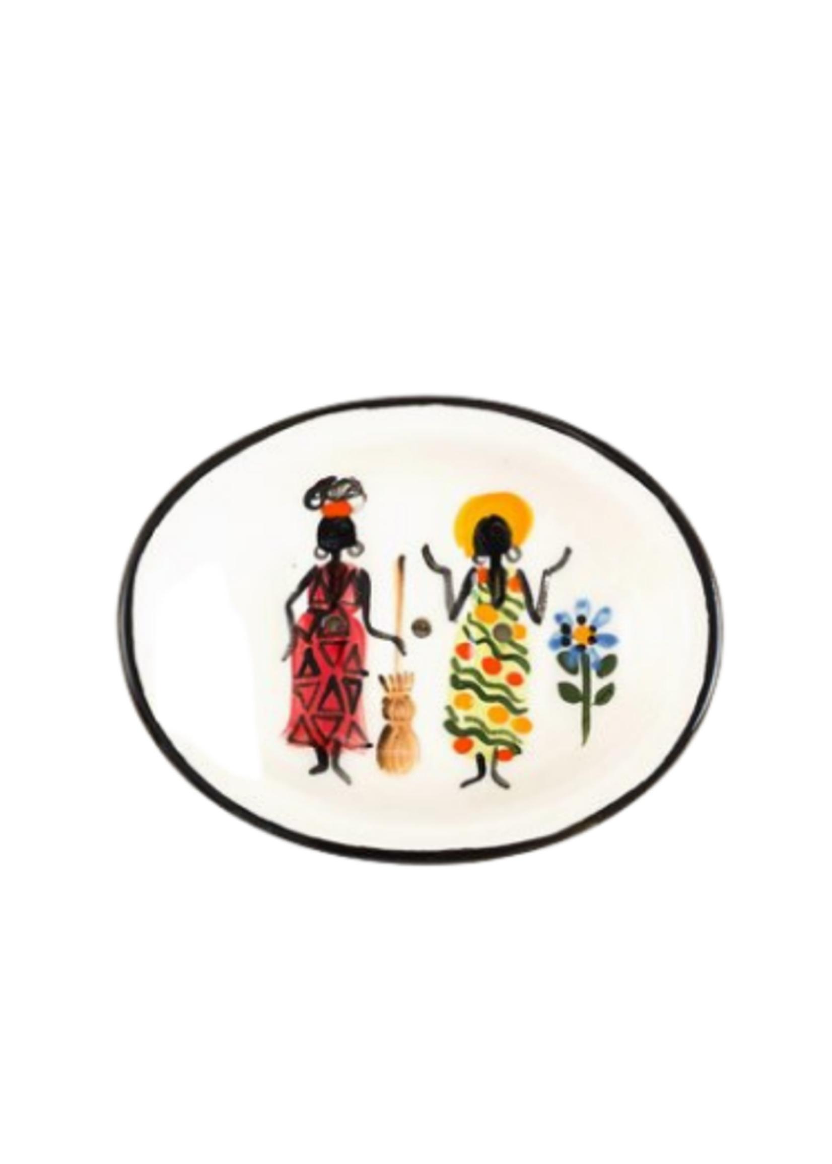 African Ladies Soap Dish