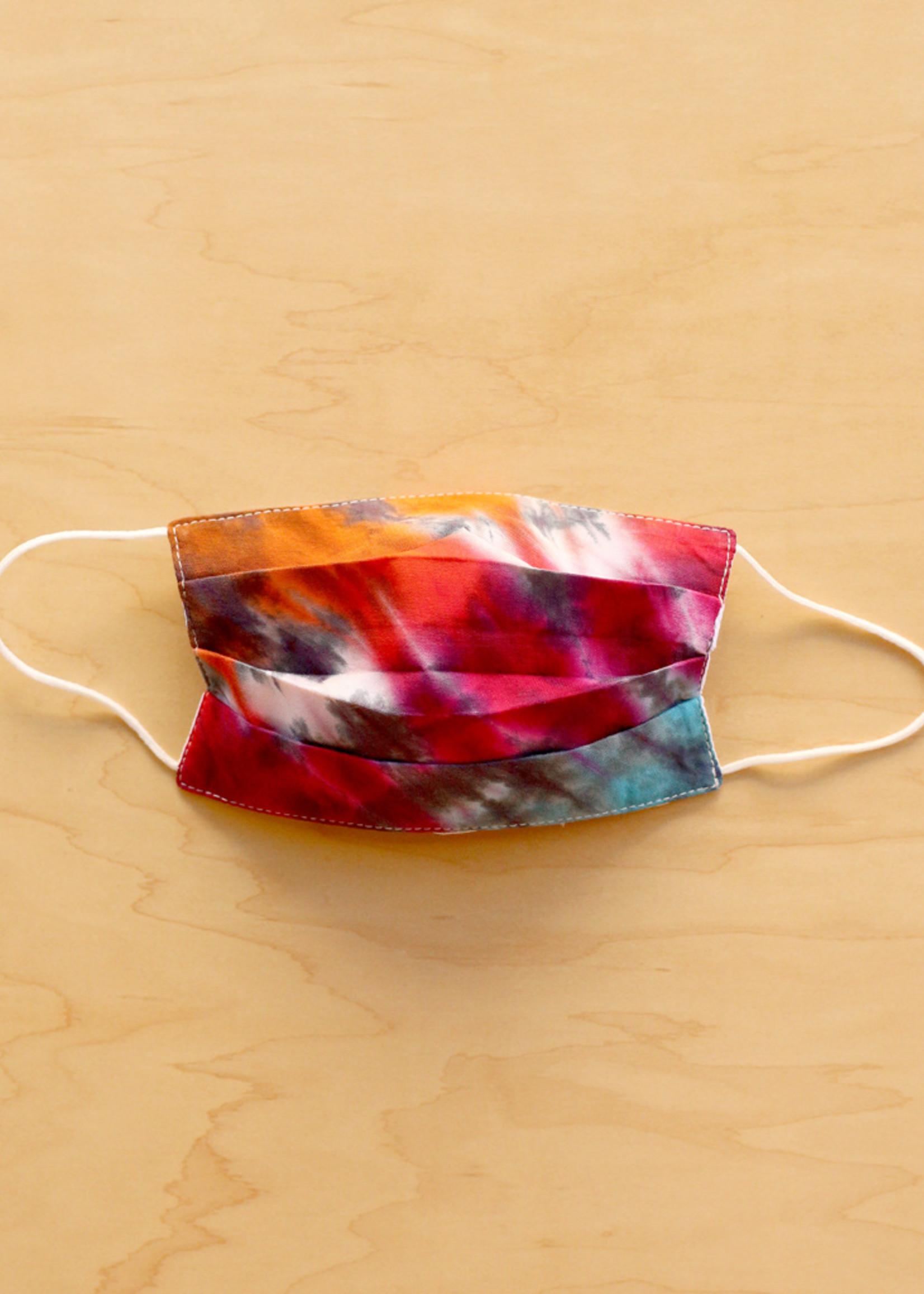 Lumily Multicolor Tie Dye Face Mask