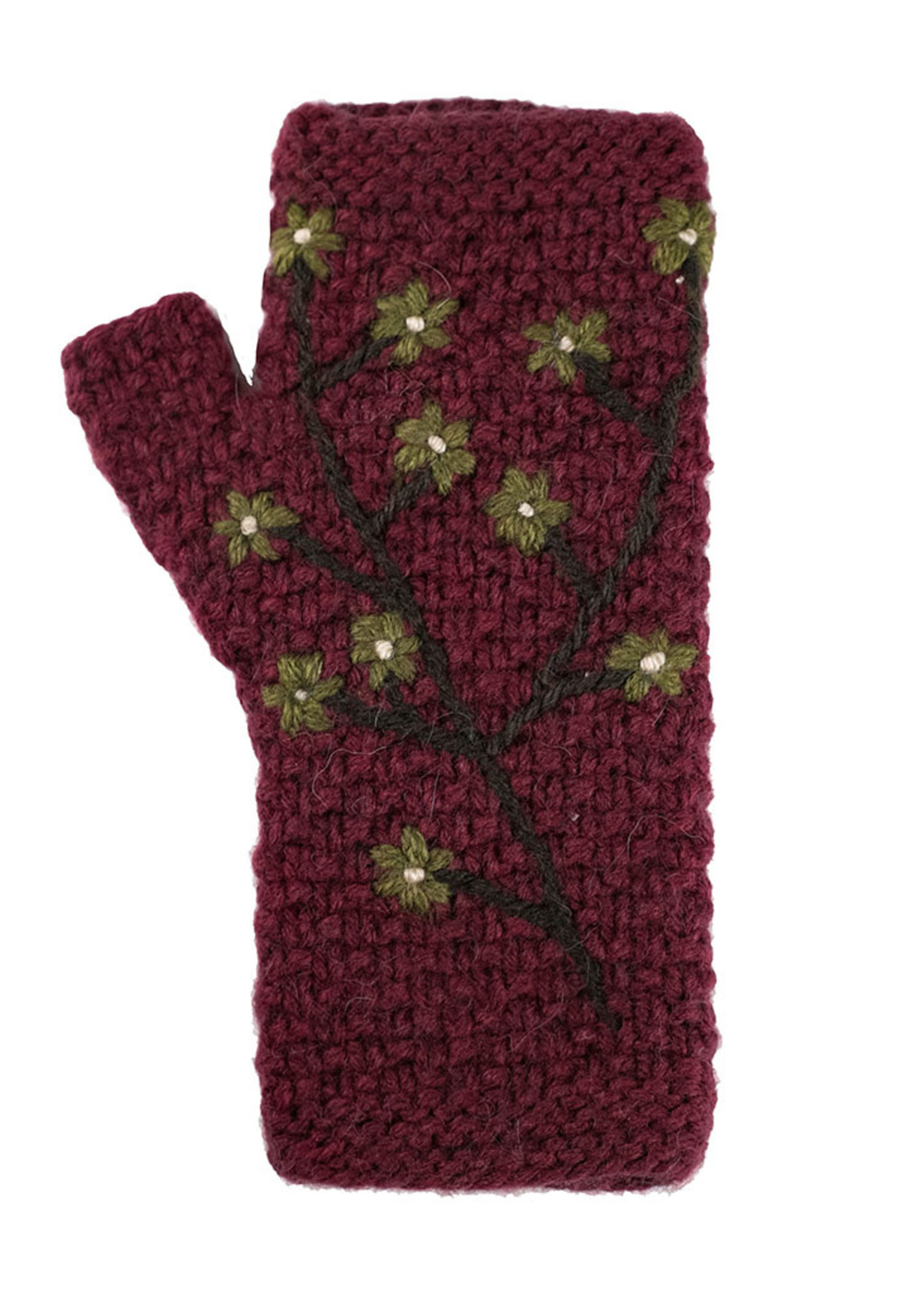 Embroidered Arm Warmers