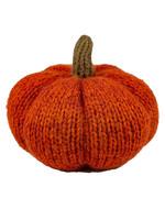 Orange Knit Pumpkin