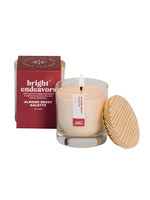 Bright Endeavors Almond Berry Soy Candle
