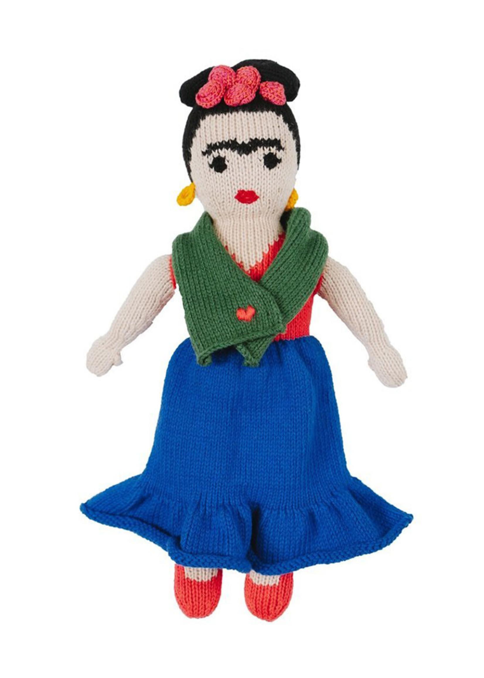 Global Goods Partners Frida Kahlo Knit Toy Doll