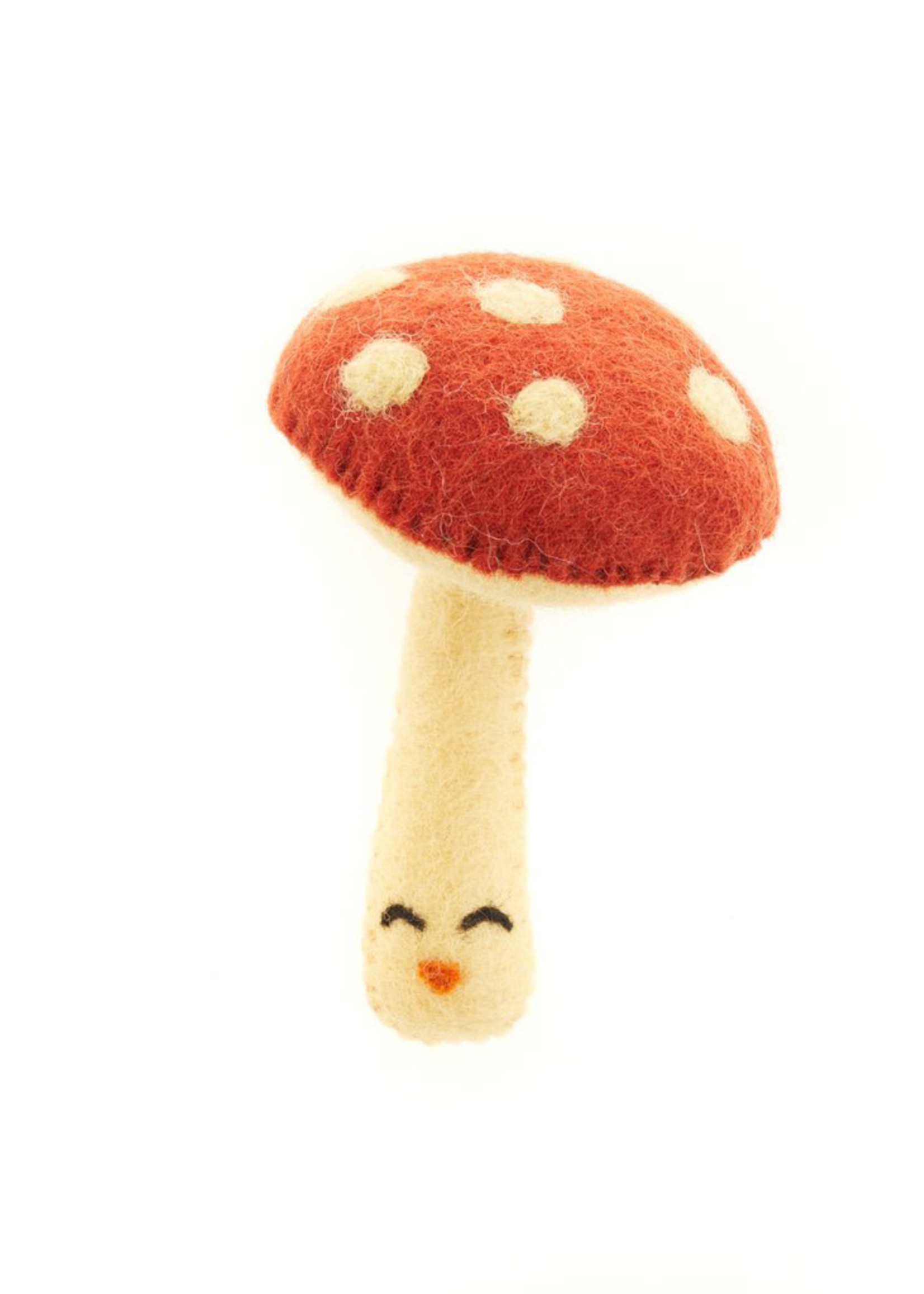 Global Goods Partners Happy Felt Mushroom Toy