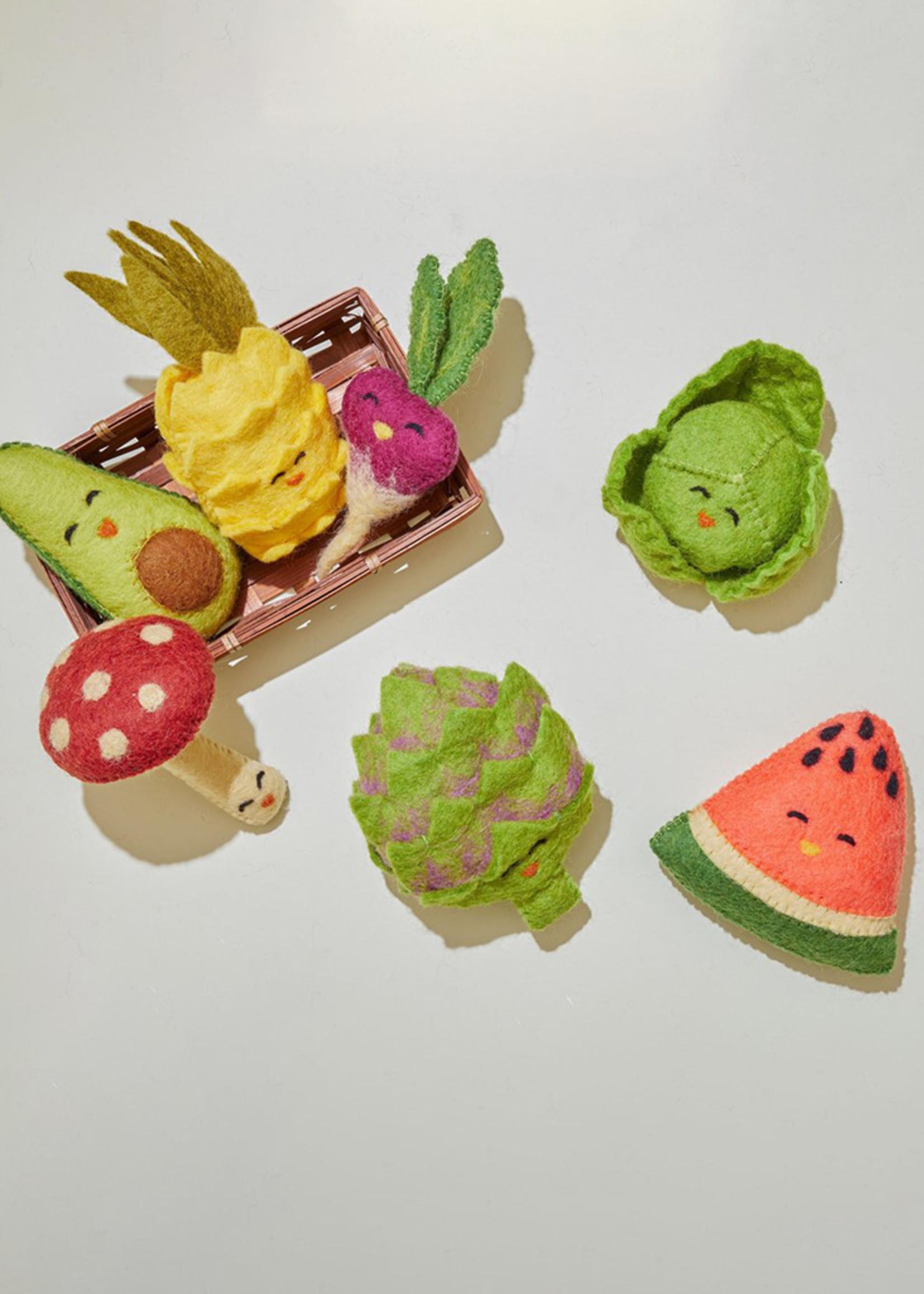 Global Goods Partners Felt Avocado Toy