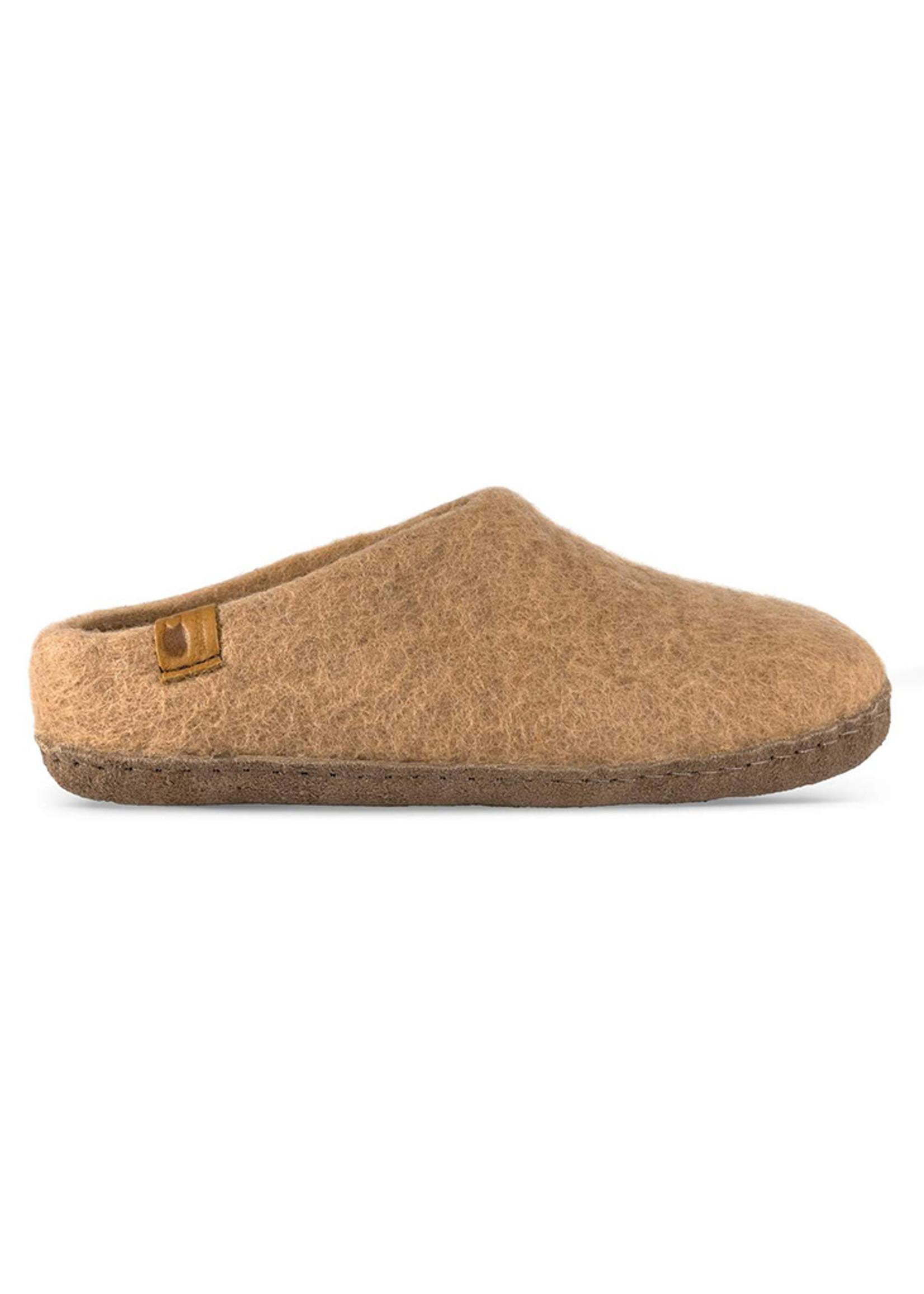 Baabushka Sand Wool Slippers