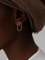 YEWO Towa clay Earrings