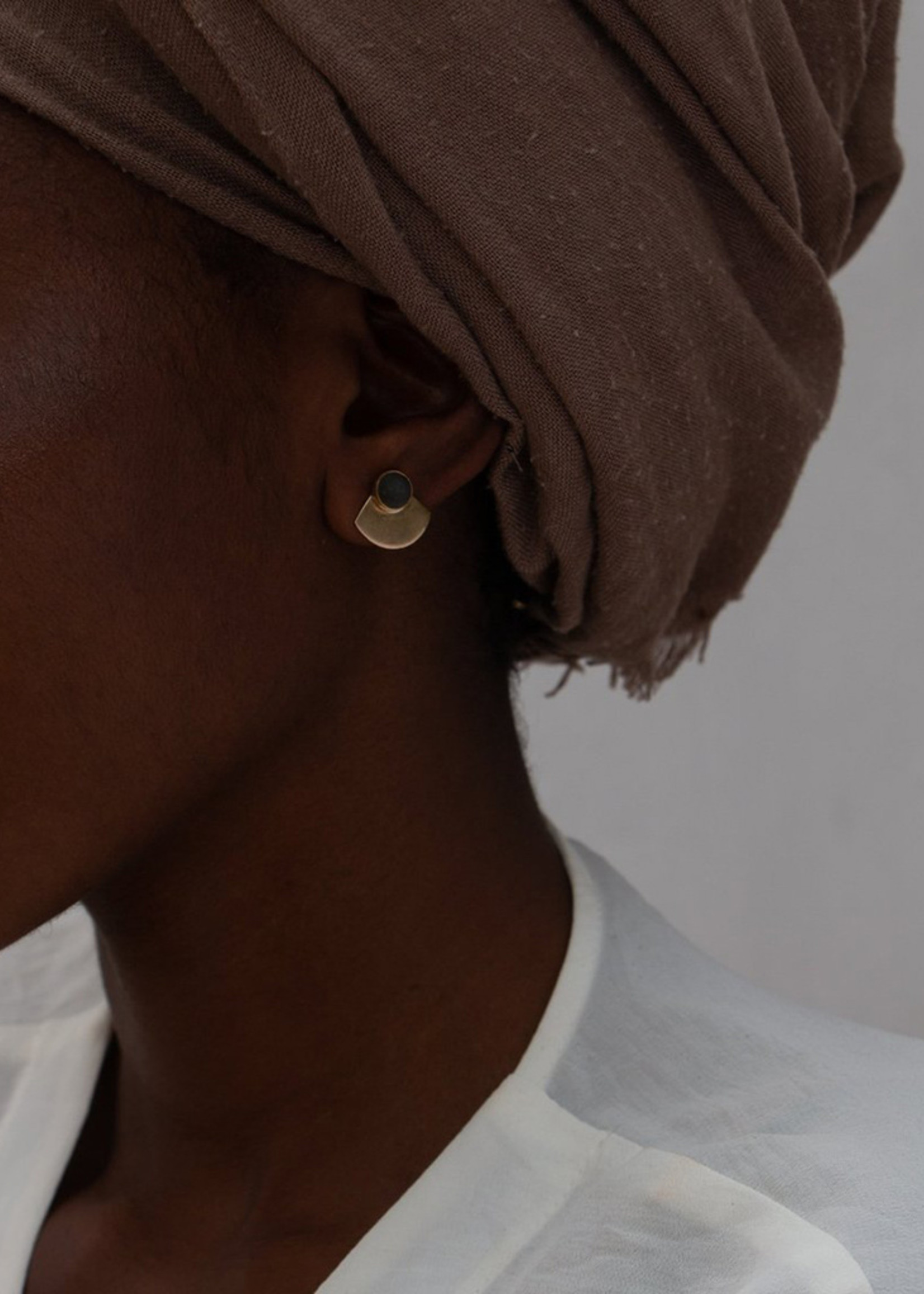 YEWO Maso slate Earrings