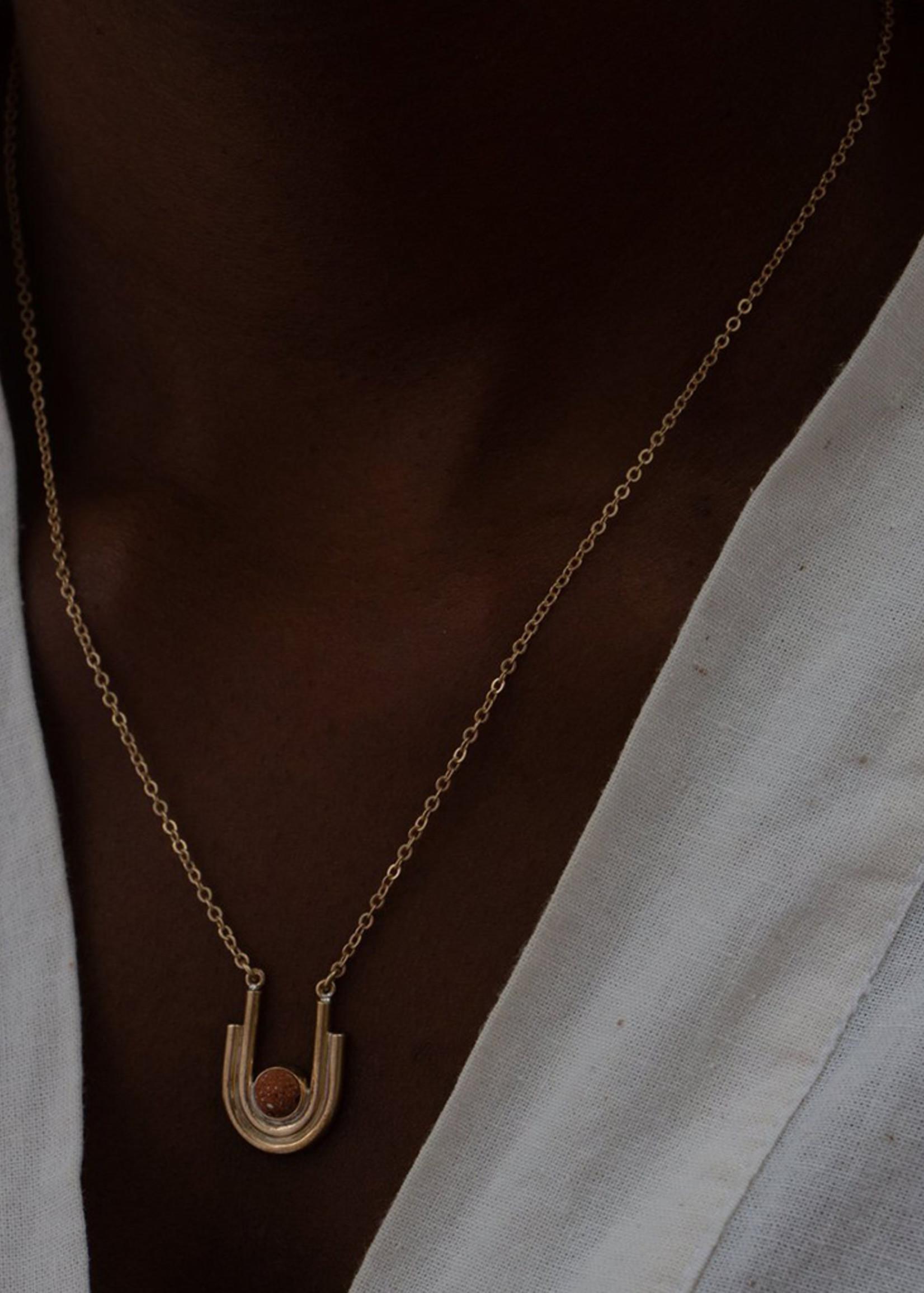 YEWO Kwera Clay Necklace