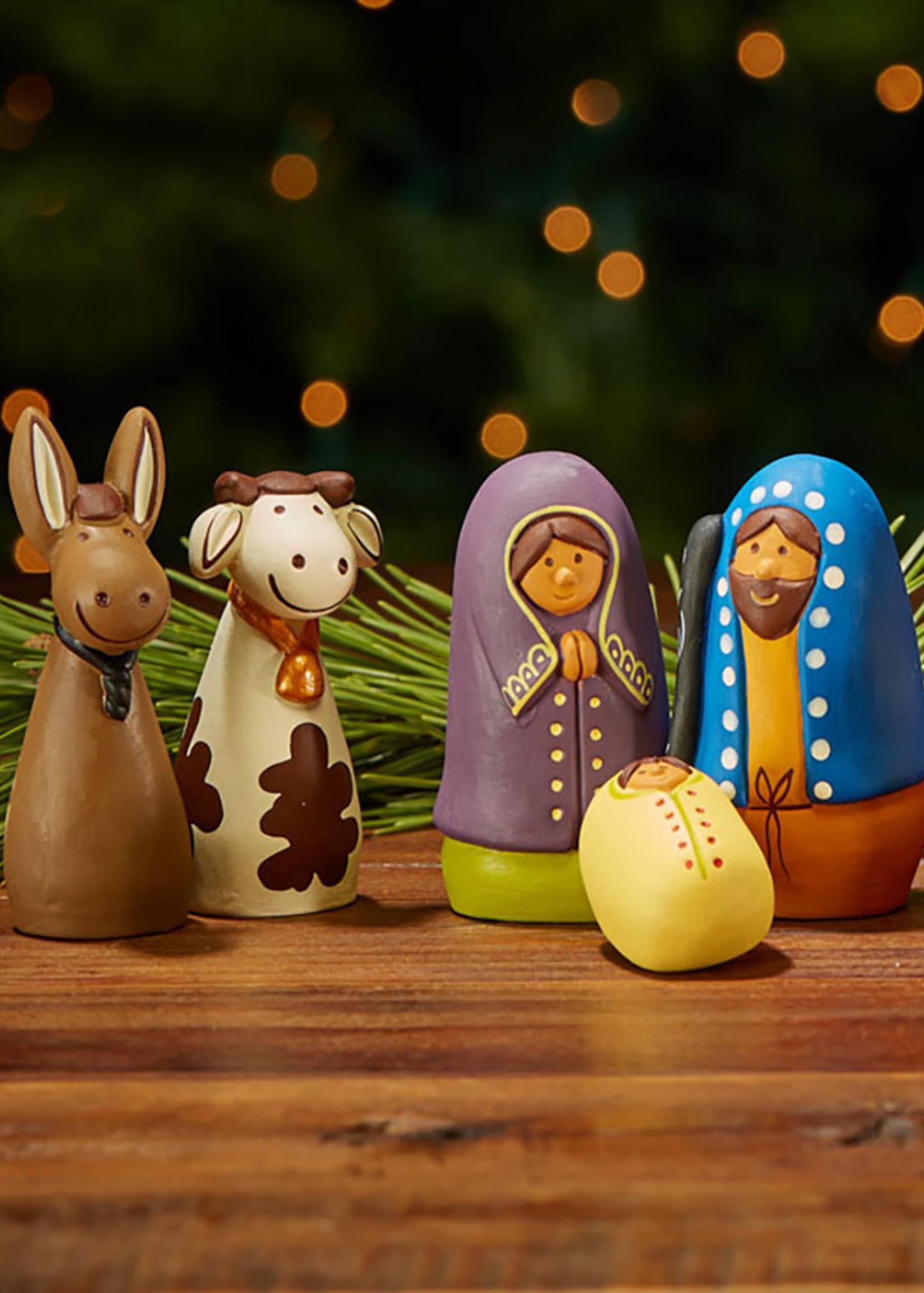 Amigos Terracotta Nativity