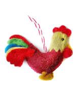 Felt Rooster Ornament