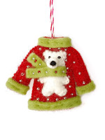 Ugly Christmas Sweater Ornament