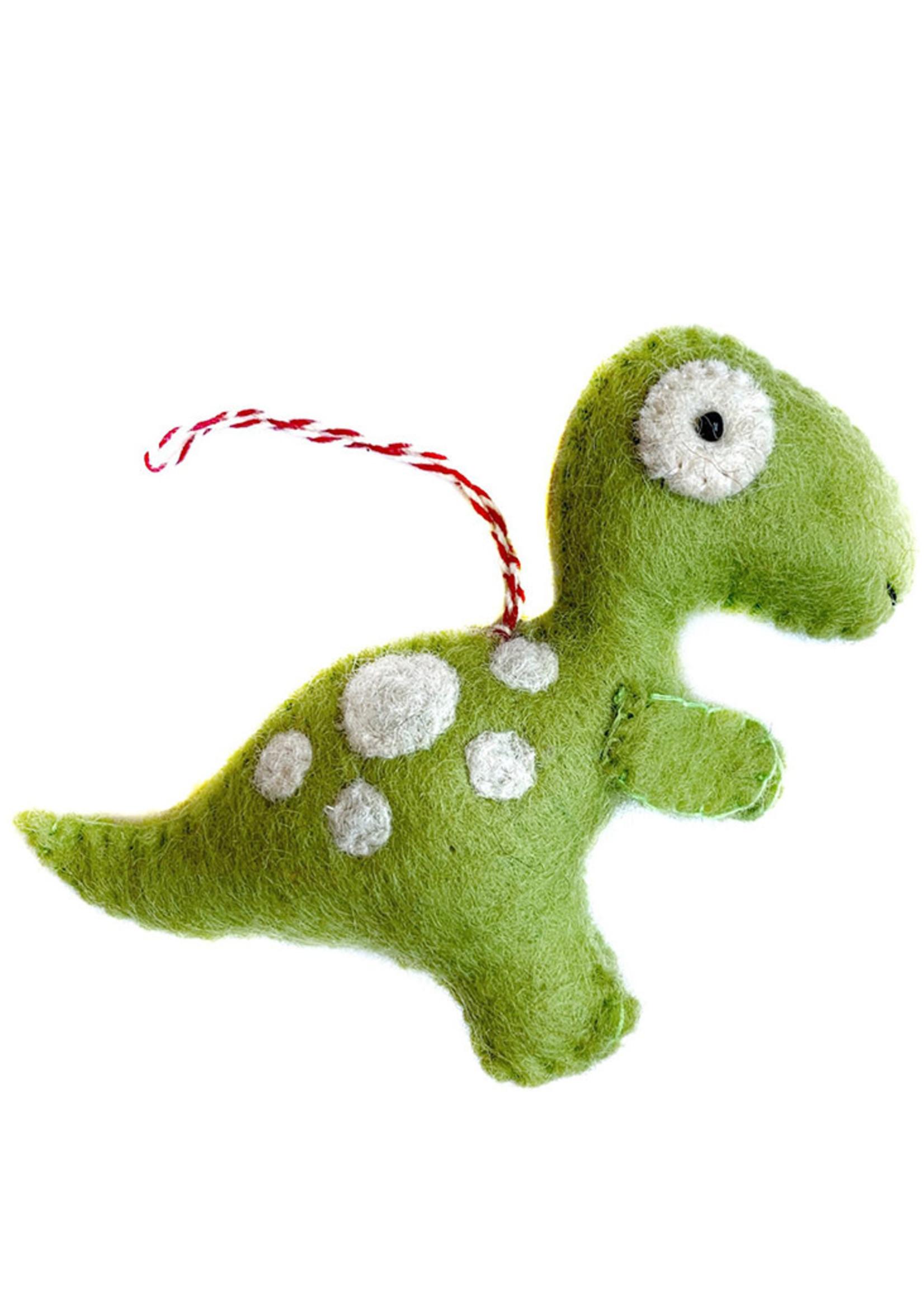 Felt T-Rex Ornament