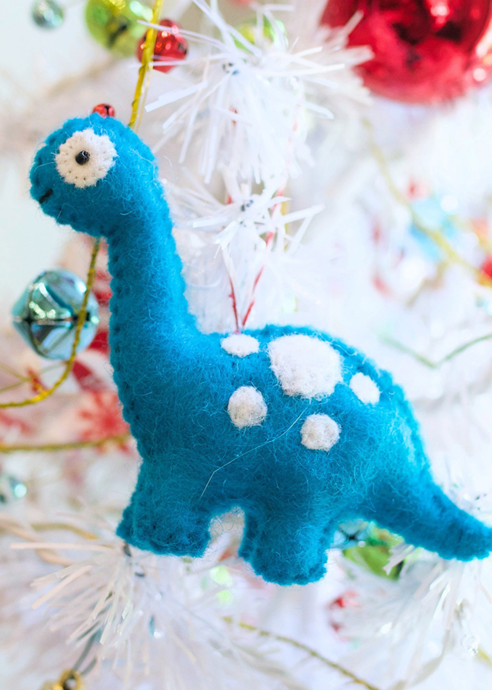 Felt Brachiosaurus Ornament