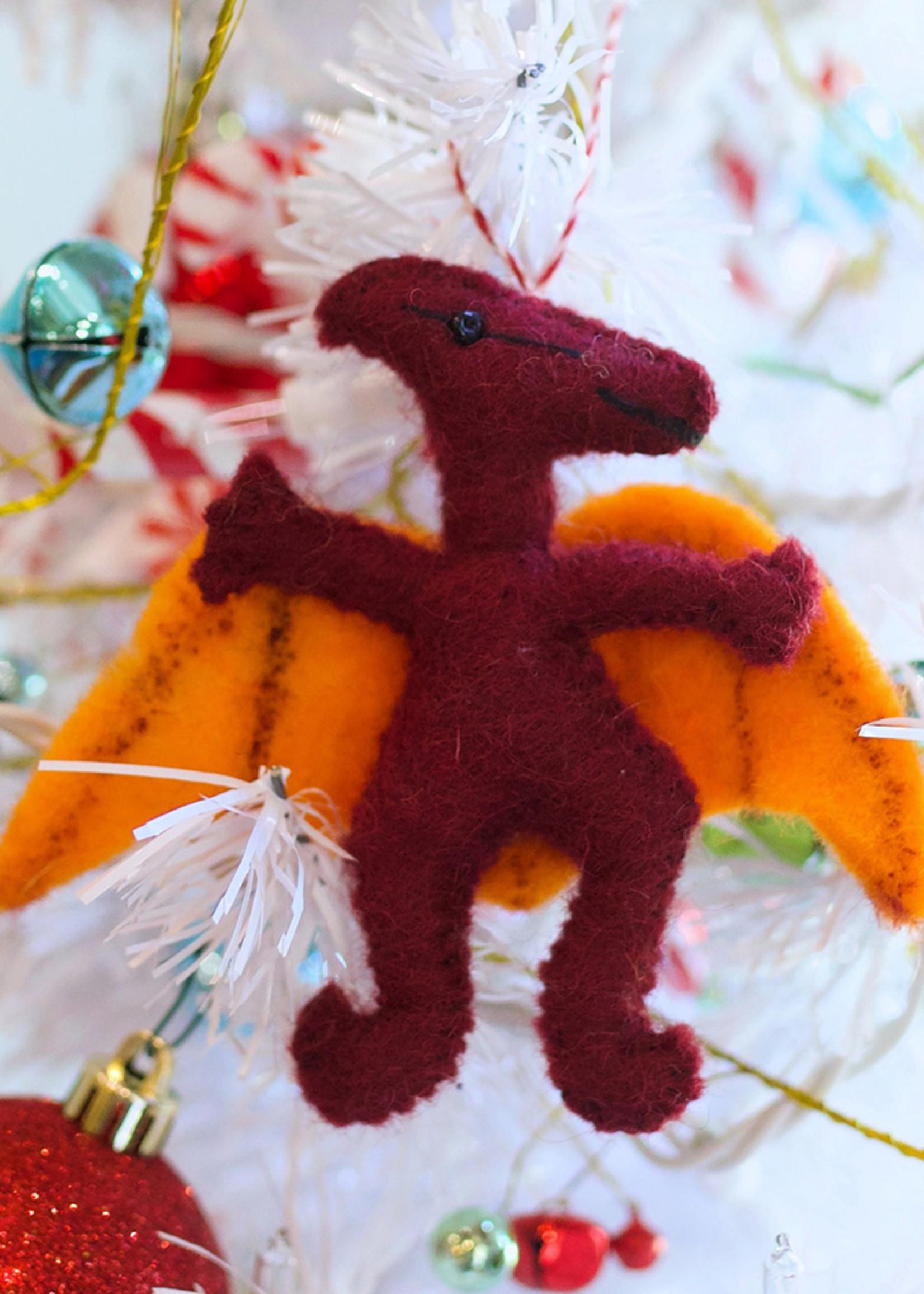 Felt Pteranodon Ornament