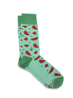 Conscious Step Men's Watermelon Socks that Provides Meals
