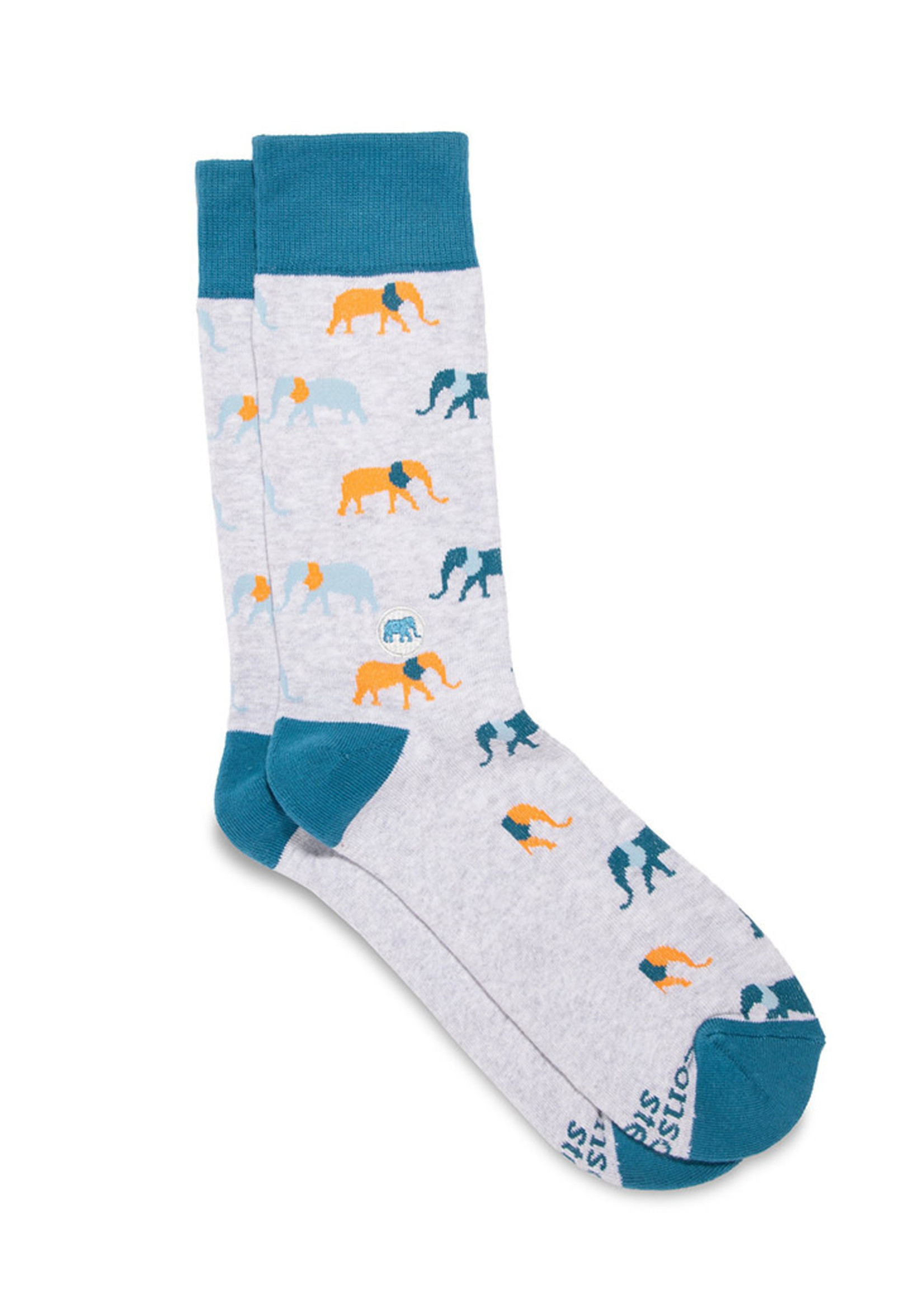 Conscious Step Women's Socks that Protects Elephants