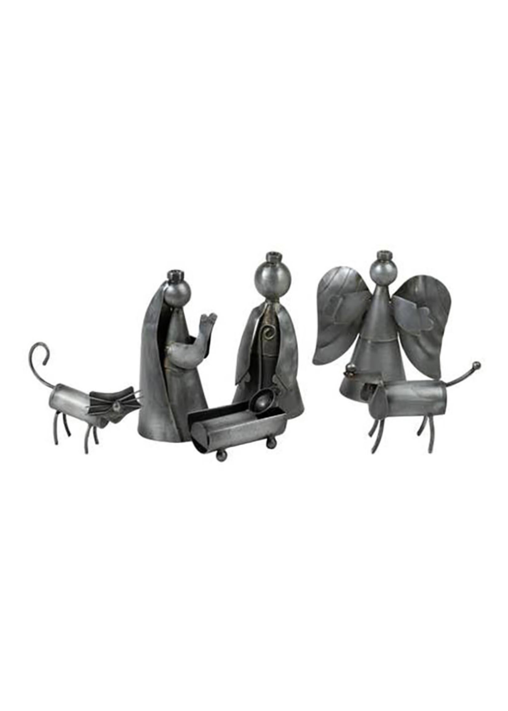 Funky Cat & Dog Nativity
