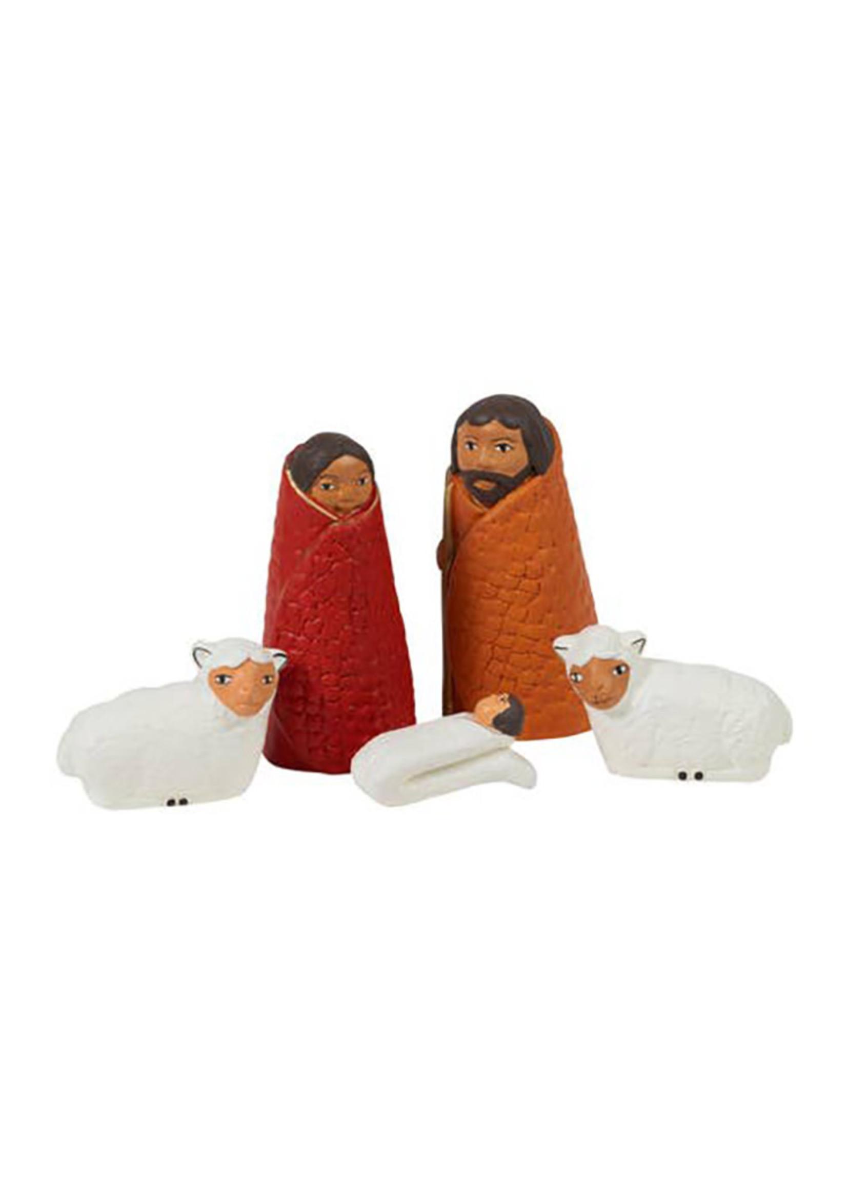 Cozy Sheep Nativity