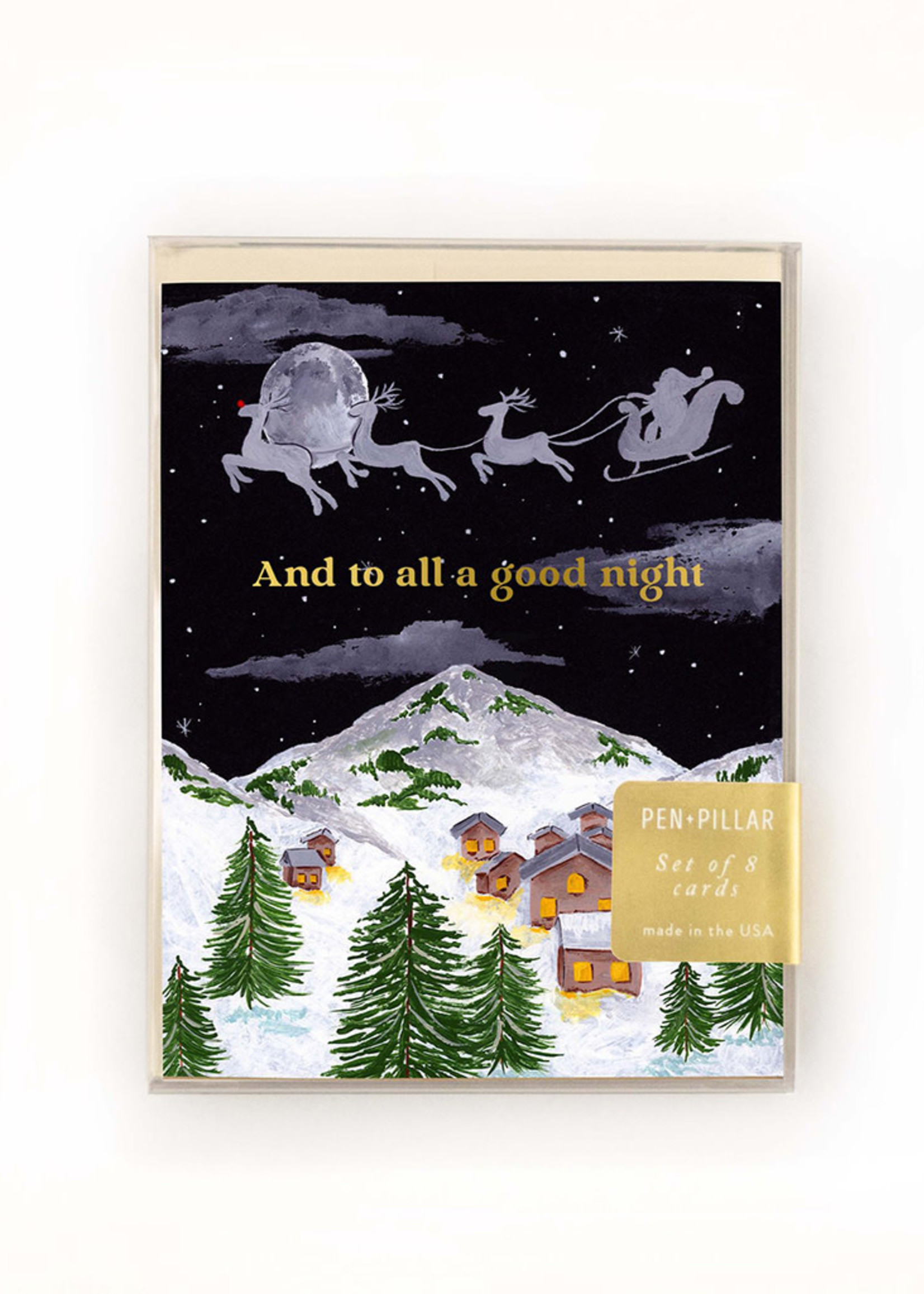 To All a Good Night Holiday Card Set