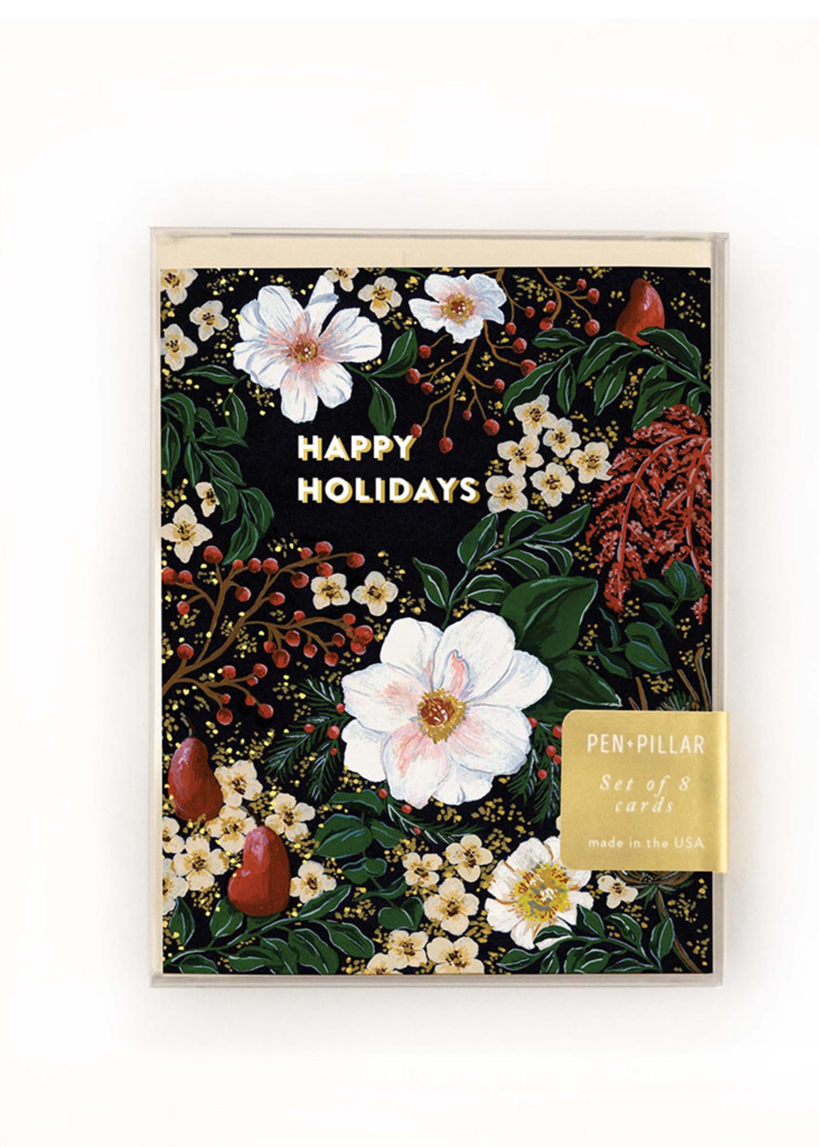 Winter Foliage Holiday Card Set