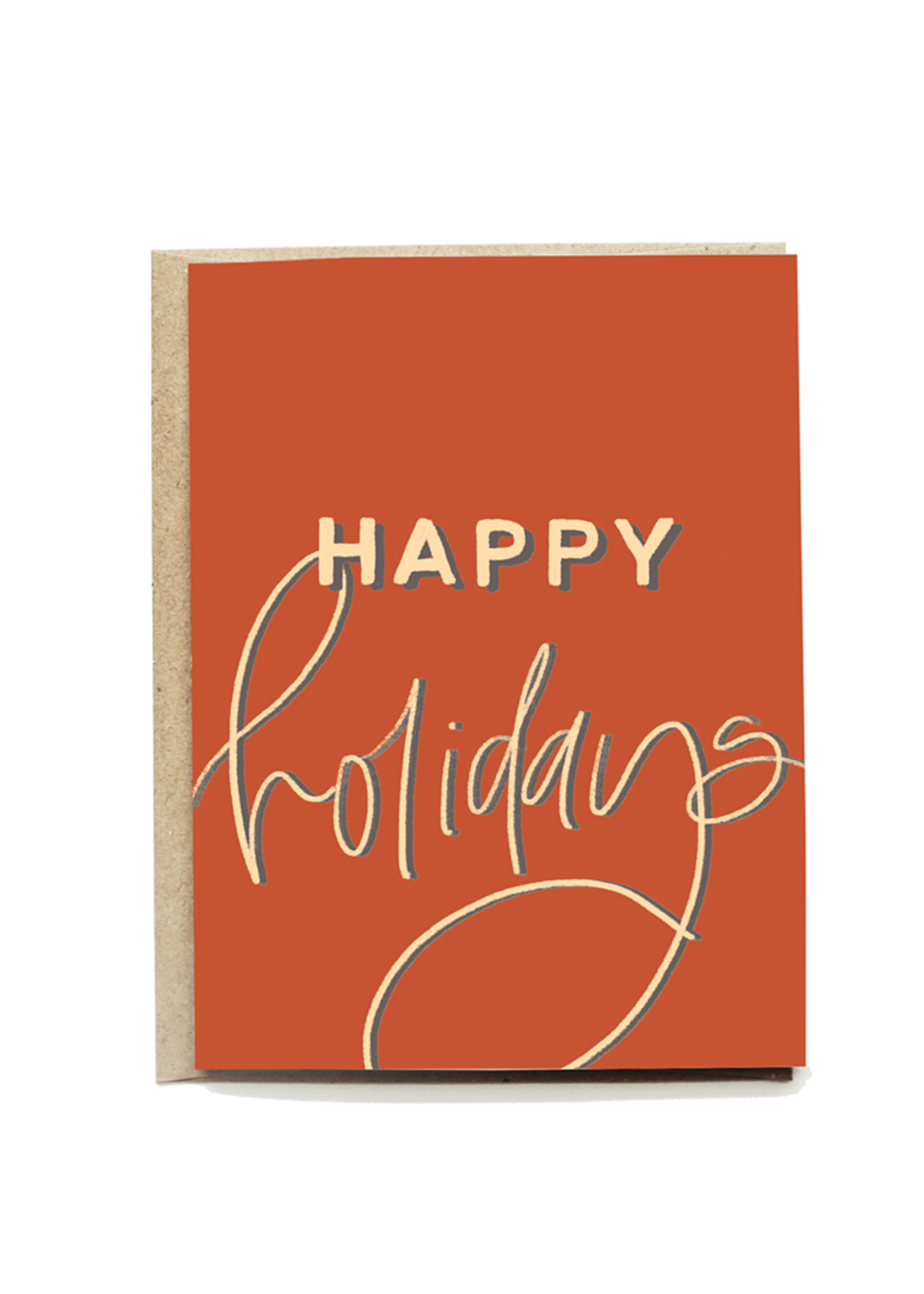 Vintage Happy Holidays Card Set
