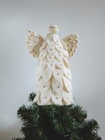Global Goods Partners Felt Angel Tree Topper