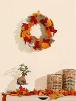 Global Goods Partners Felt Maple Leaf Wreath