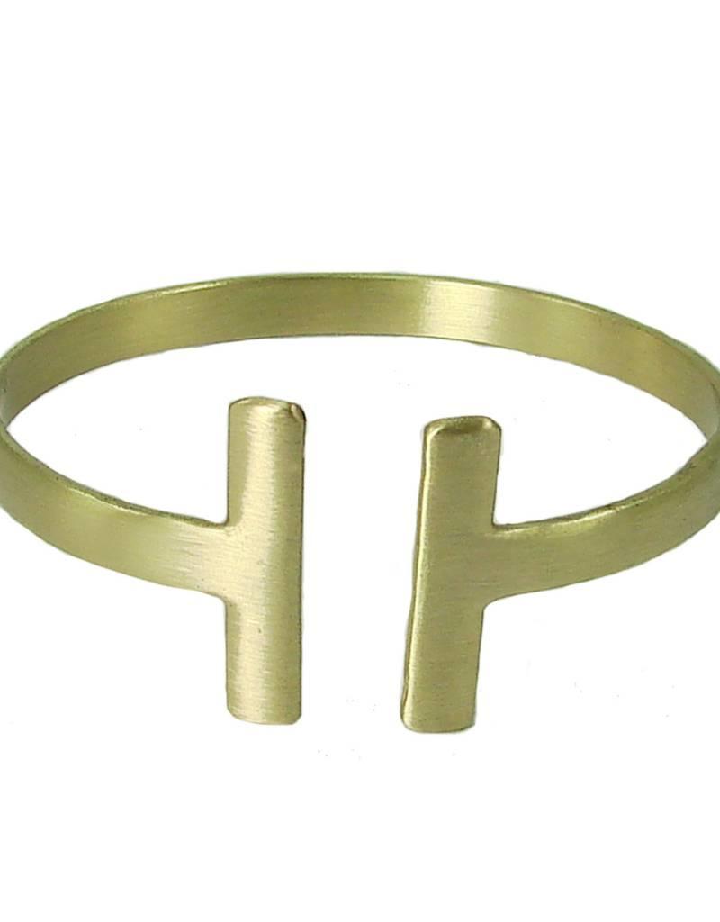 WorldFinds Perpendicular Cuff Bracelet