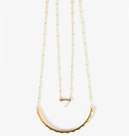 Mata Traders Nadira White Necklace