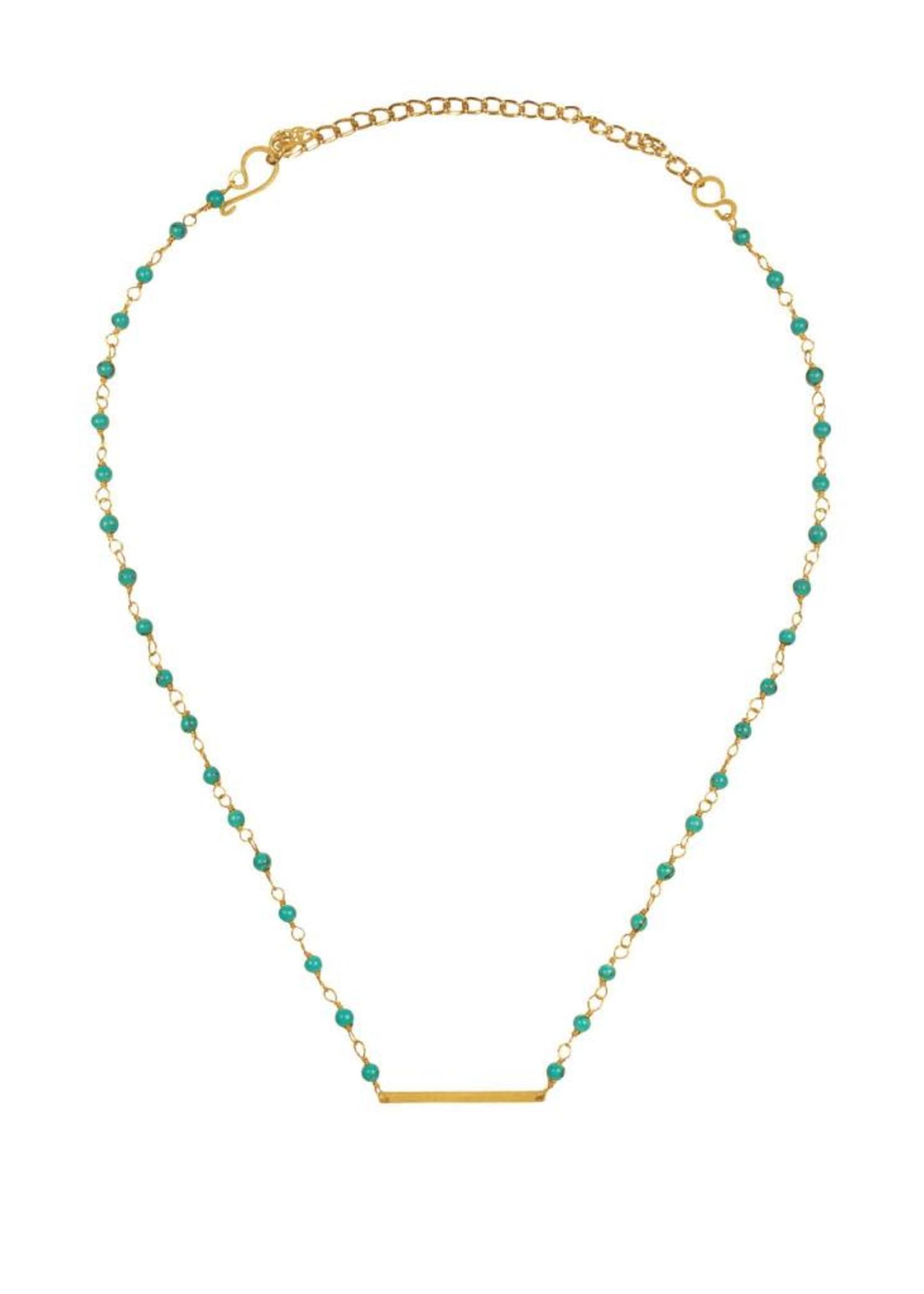 Purpose Jewelry Turquoise Coastal Choker