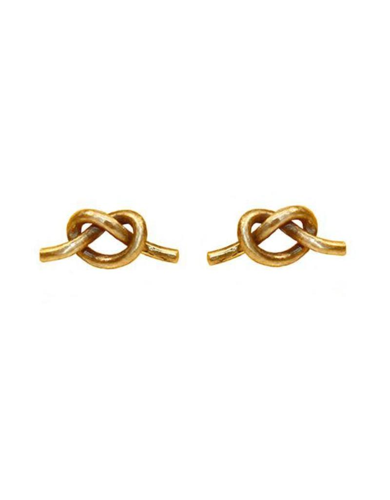 Purpose Jewelry Knot Stud Earrings