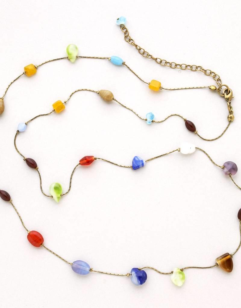Tara Projects Rainbow Bead Necklace
