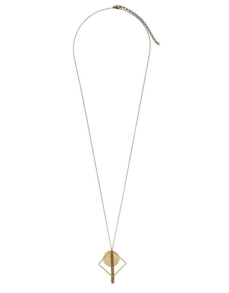 Rajana Bombshell Tassel Necklace