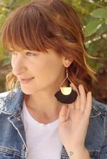 WorldFinds Fanned Fringe Earrings