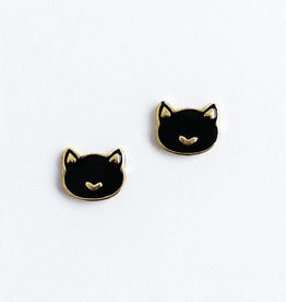 Mata Traders Kit Cat Stud Earrings