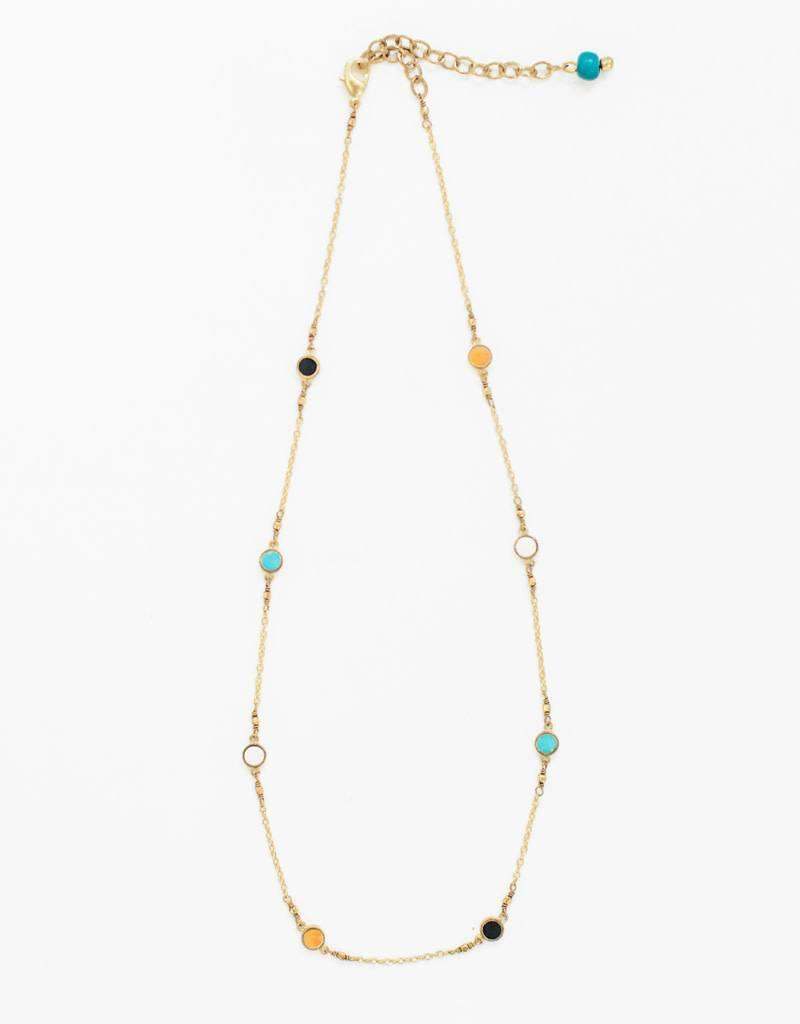 Mata Traders Dainty Dot Necklace