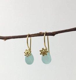 dZi Aqua Grotto Earrings