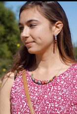 WorldFinds Delicate Kantha Necklace